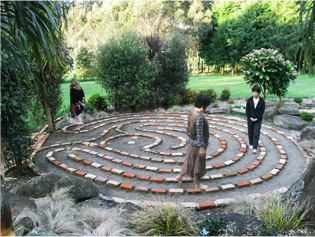 Walk the Labyrinth and manifest your dreams.